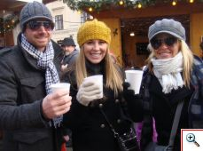 Joe, Kristal and Jenny in Vienna