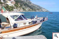Boat to Capri from Positano