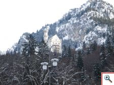 Castle perched on a hill