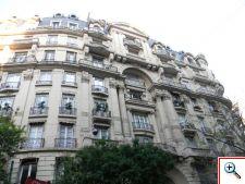 French architecture in Recoleta