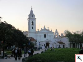 Our Lady of Pilar Church from a distance