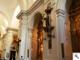 Interior of Our Lady of Pilar Church