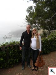 Jeff and  Julie in Carmel, CA