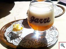 De Garre Tripel beer from Staminee de Garre in Brugge
