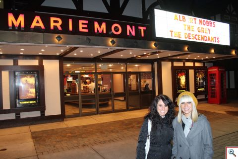 Jill and Jenny at Mariemont Theatre