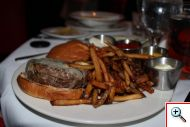 Bistro Burger and Truffle Fries