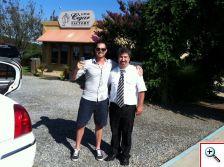Joe and our driver Dan, Vineyard 48