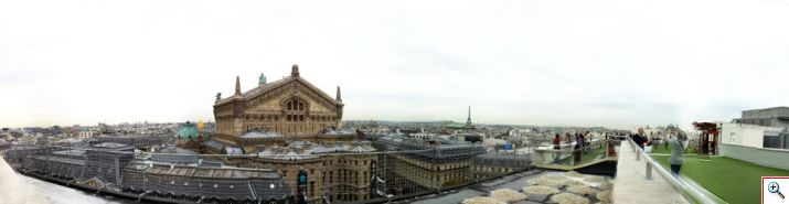 Our Panoramic View from LaFayette