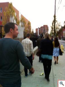Nick walking