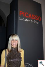 Jenny with Picasso Prints
