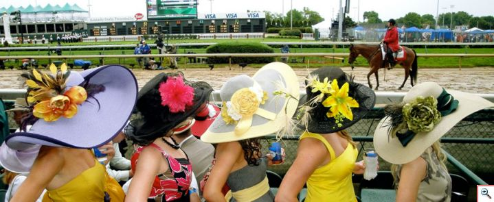Kerr Girls at Kentucky Derby