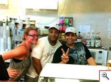 The friendly and fun staff at Sugar Cafe