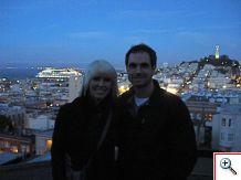 Eric's balcony in San Fran