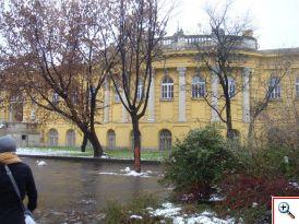 Exterior of the Szechenyi Baths