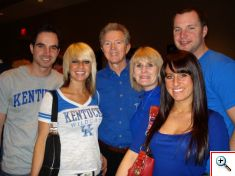Part of the Fam at Rupp Arena